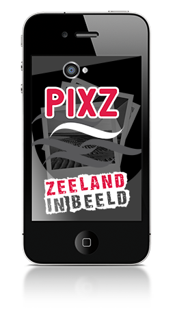 PIXZ Zeeland foto sharing app
