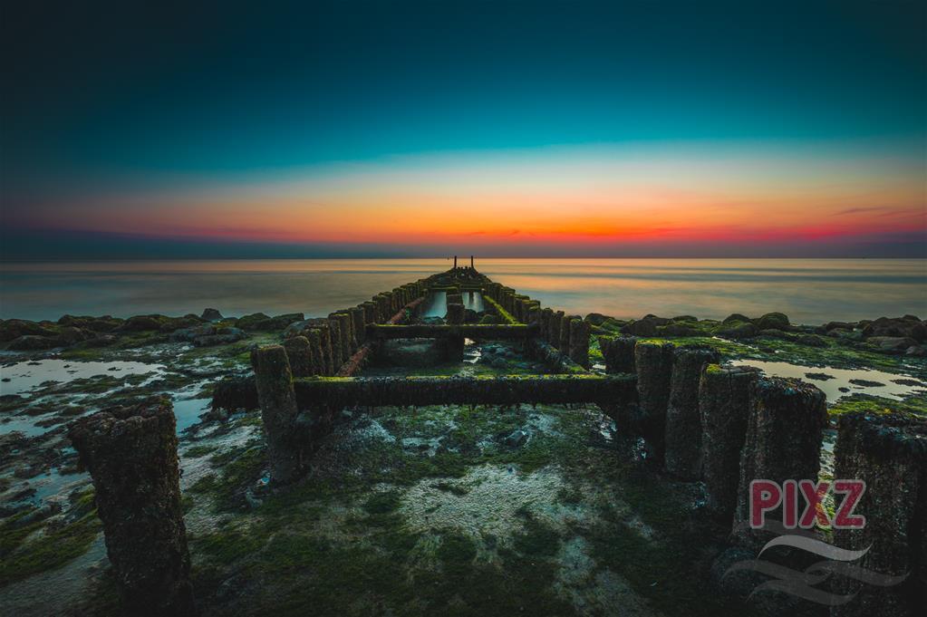 PIXZ Zeeland Foto van de Week 'Zeedijk Westkapelle'