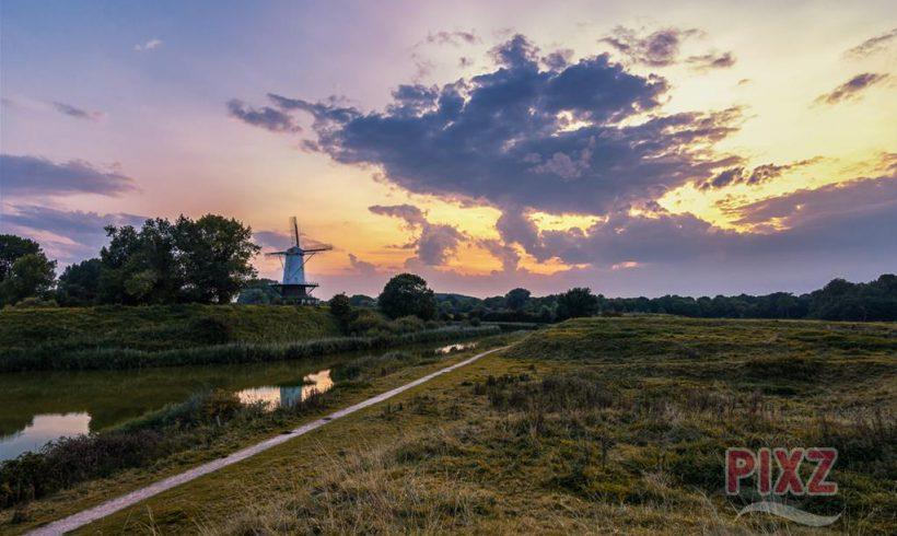 PIXZ Zeeland Foto van de Week 'Gouden Molen' | Zeeuws Goud