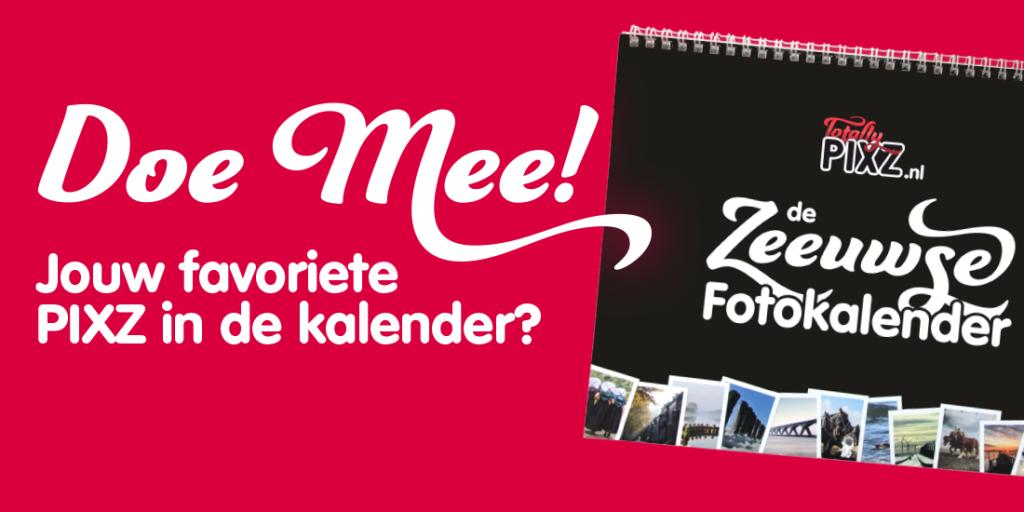 PIXZ Zeeland Kalender.