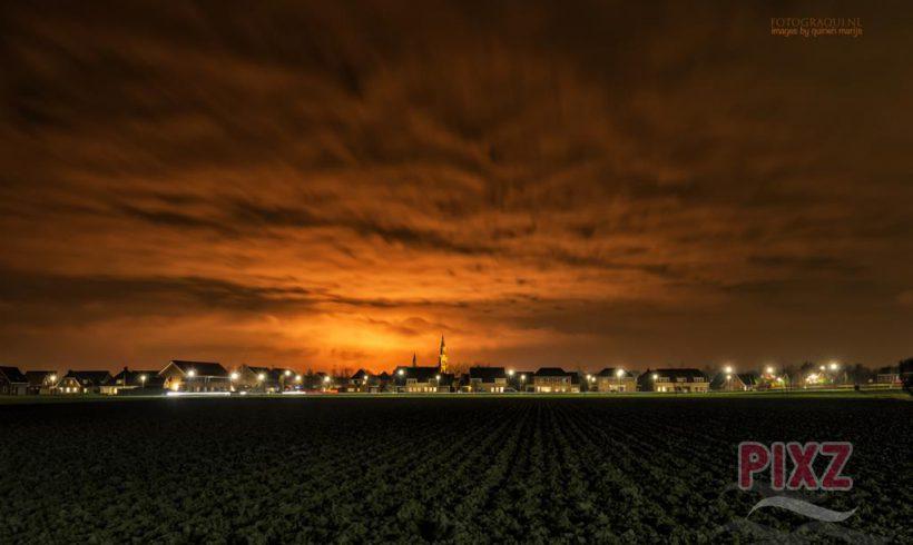 PIXZ Zeeland Foto van de Week 'affakkelen Dow'
