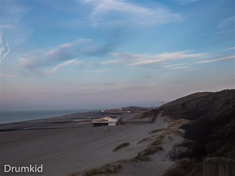 Duinen in de morgen